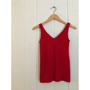 Anthropologie Seamless Layering CAMISOLE | Red S